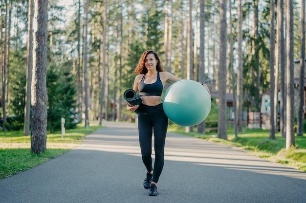 피트니스, 스포츠 및 건강한 라이프 스타일 컨셉