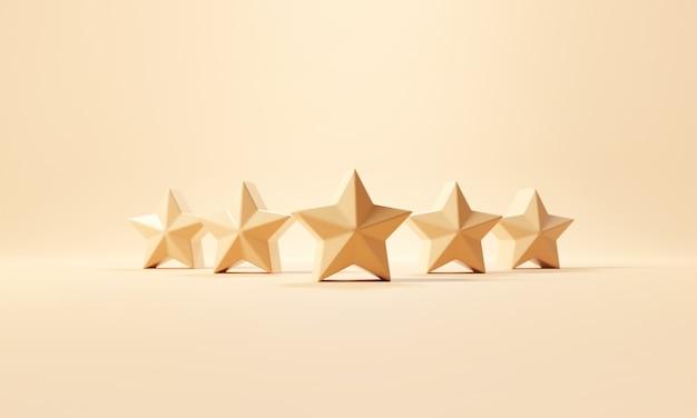 Пятизвездочный символ с лучшим рейтингом
