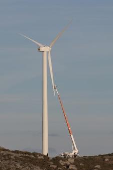 Riparare una turbina eolica