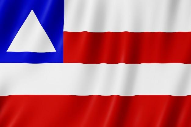 Flag of bahia state in brazil