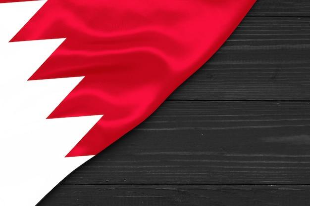 Flag of bahrain copy space