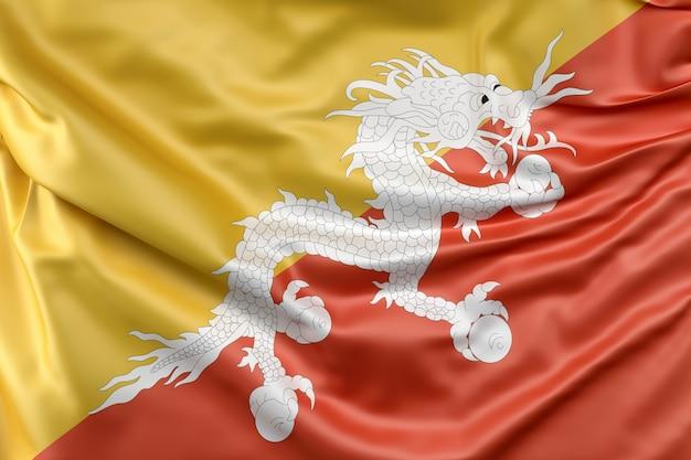 Bandiera del bhutan