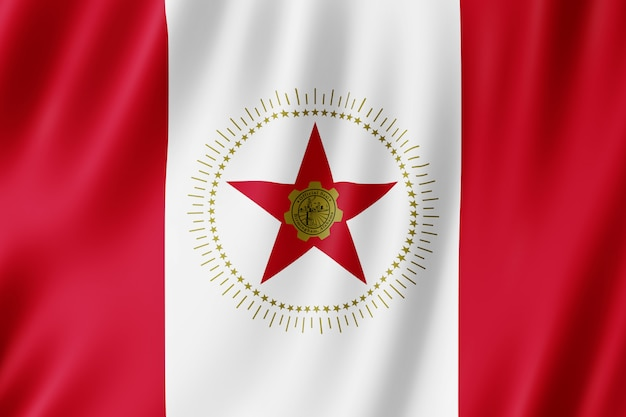 Flag of birmingham city, alabama (us)