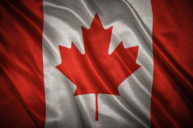 Flag of canada background