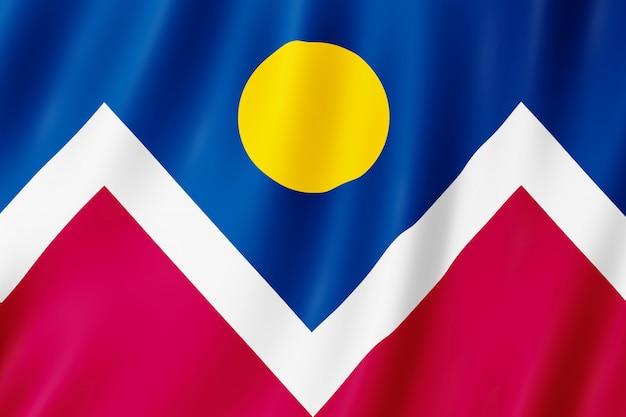 Flag of denver city, colorado (us)
