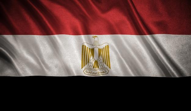 Flag of the egypt