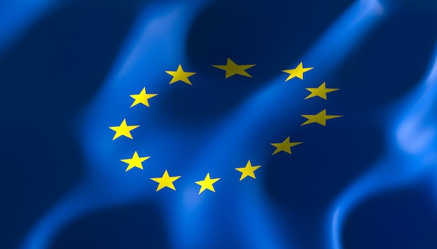 Flag of the european nations