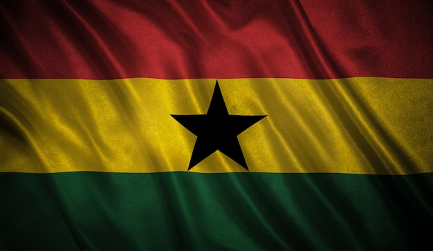Flag of the ghana