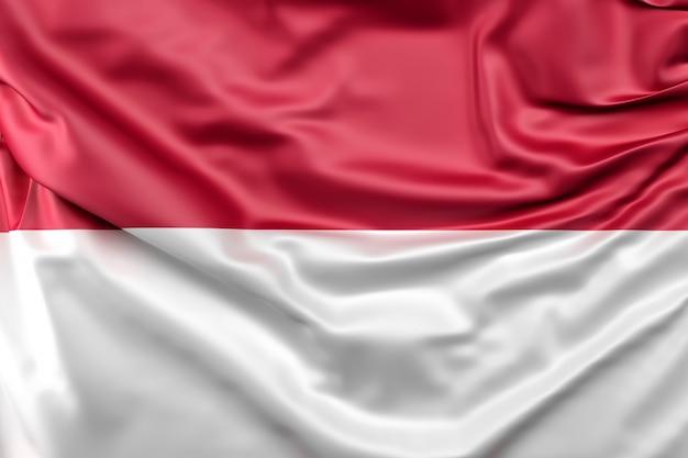 Flag of indonesia Free Photo