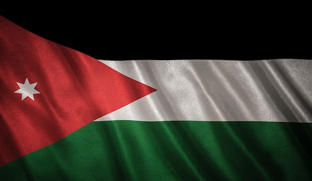 Flag of the jordan