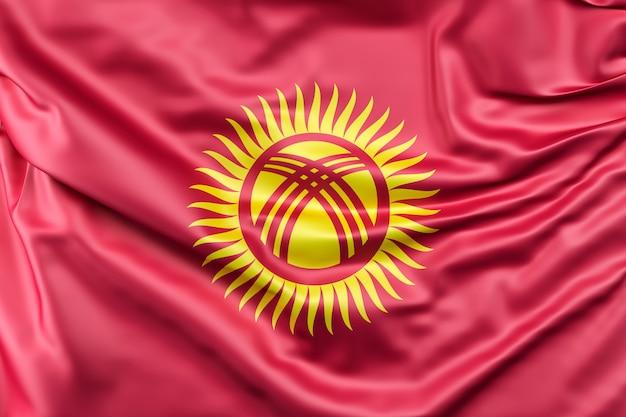 Bandiera del kirghizistan