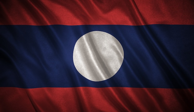 Flag of the laos