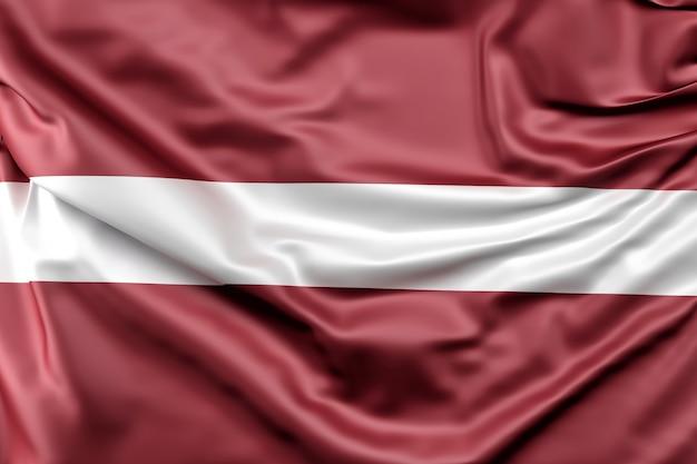 Bandiera della lettonia