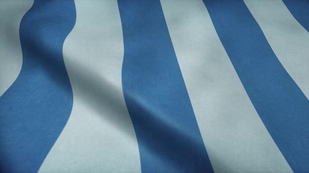 Flag of mar del plata