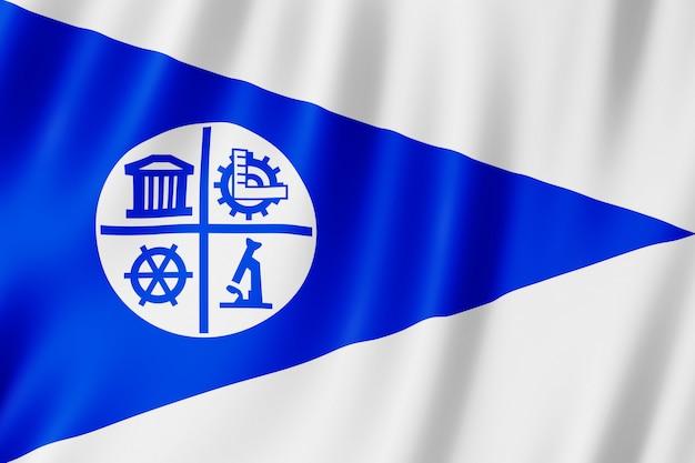 Flag of minneapolis city, minnesota (us)