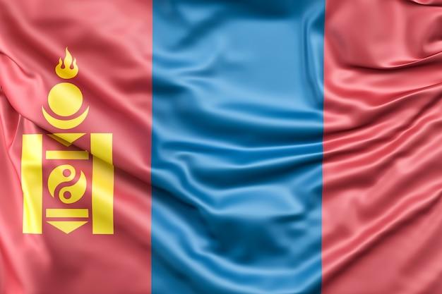Bandiera della mongolia