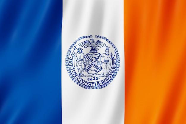 Flag of new york city, new york (us)