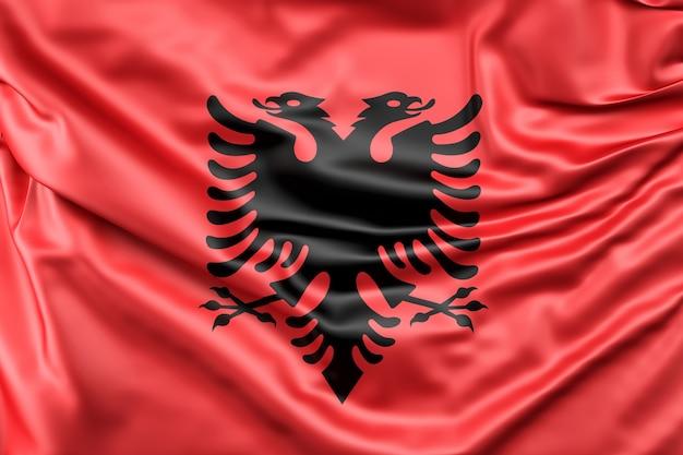 알바니아의 국기