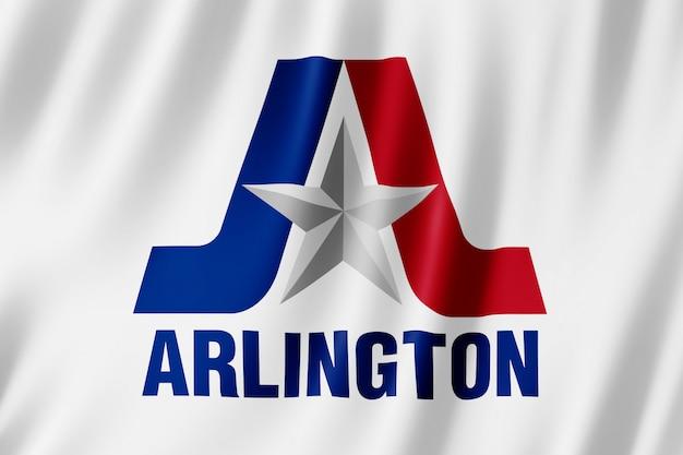 テキサス州アーリントン市の旗