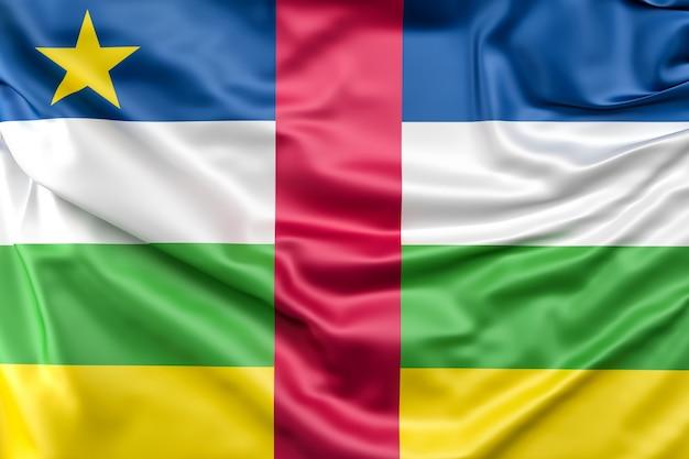 Флаг центральноафриканской республики