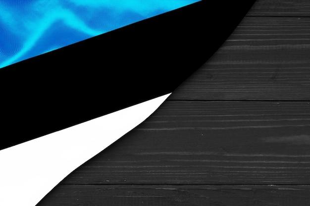 에스토니아 복사 공간의 국기