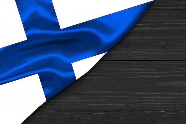 Флаг финляндии копией пространства