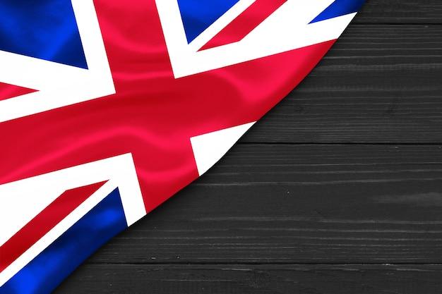 Флаг великобритании копией пространства