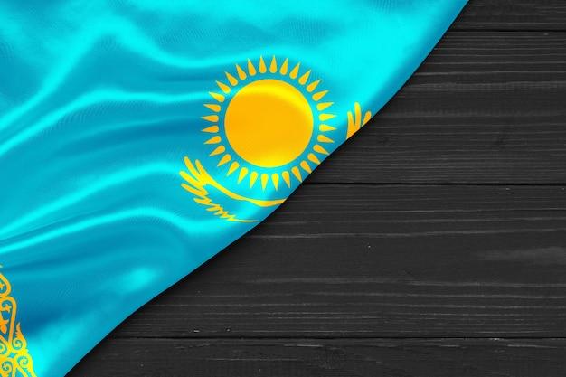 Флаг казахстана копией пространства