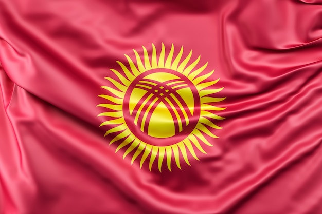 キルギスタンの国旗