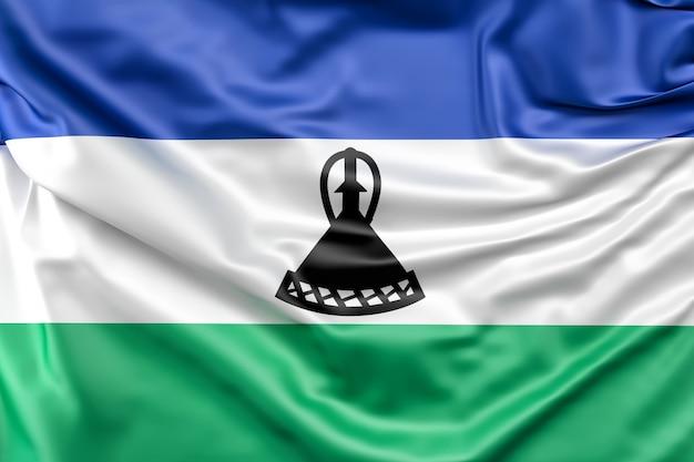 레소토의 국기