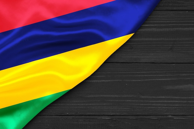 Флаг маврикия копией пространства
