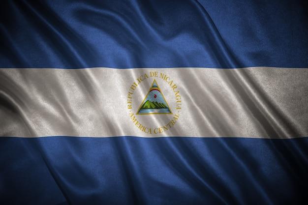 ニカラグアの旗