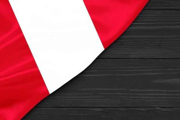 페루 복사 공간의 국기
