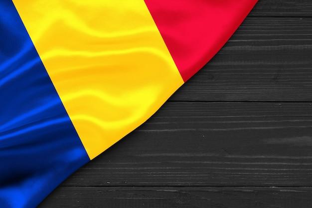 Флаг румынии копией пространства