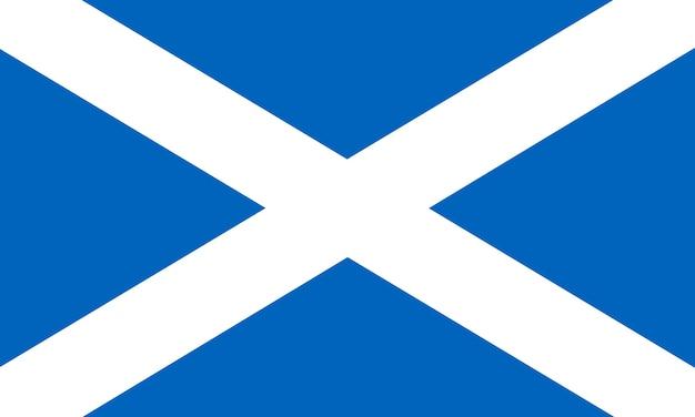 스코틀랜드의 국기