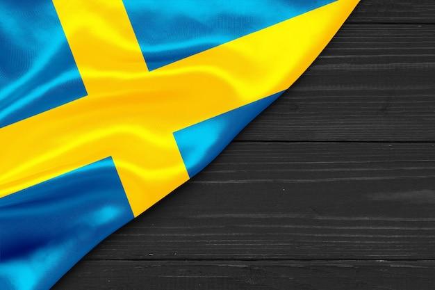 스웨덴 복사 공간의 국기
