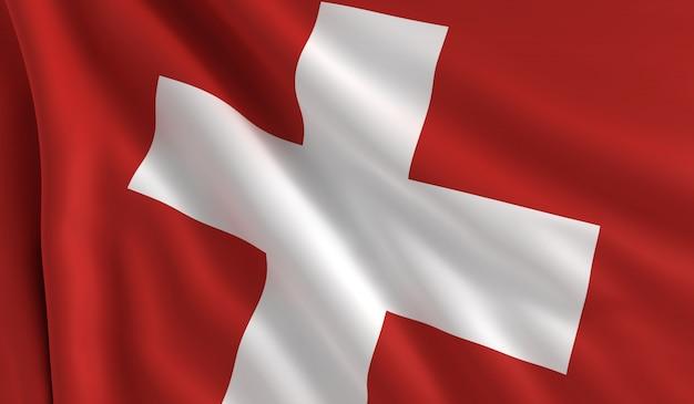 スイスの旗