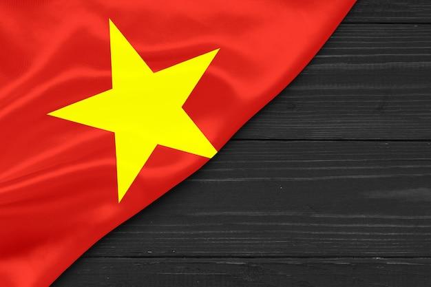 베트남 복사 공간의 국기