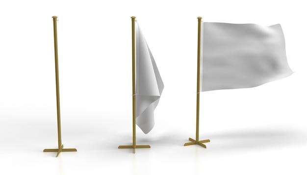 Флагшток и основание флагшток и основание с подвесным флагом золотая стальная стойка и тканевый флаг серии