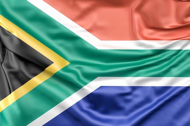 Bandiera della repubblica del sud africa