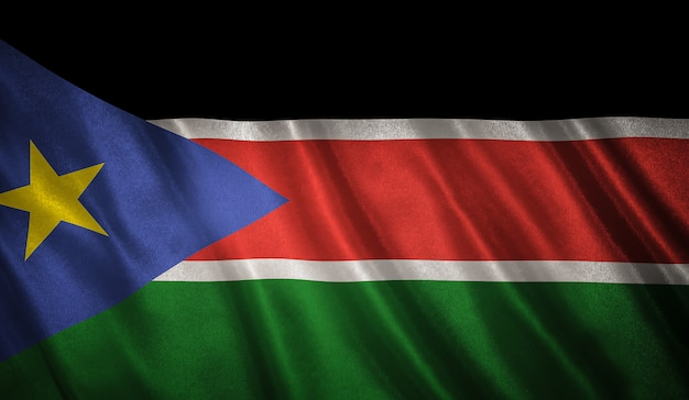 Flag of the south sudan