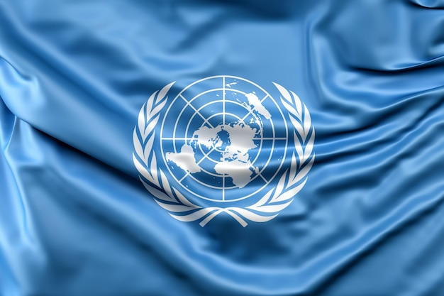 Flag of the united nations Free Photo