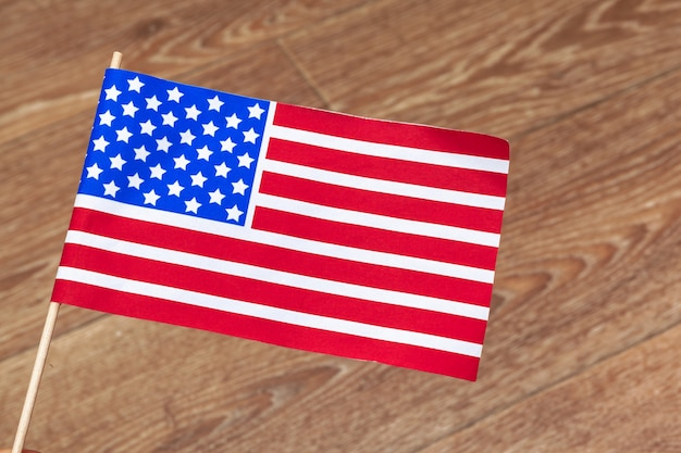 Flag of the united states of america. usa holiday of veterans, memorial, independence and labor day.