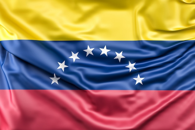 Flag of venezuela Free Photo
