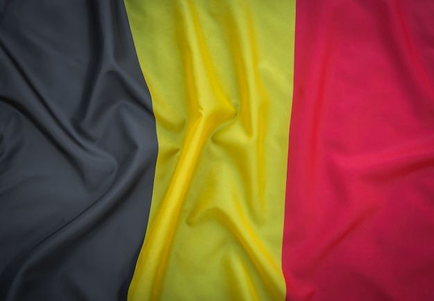 Flags of belgium .