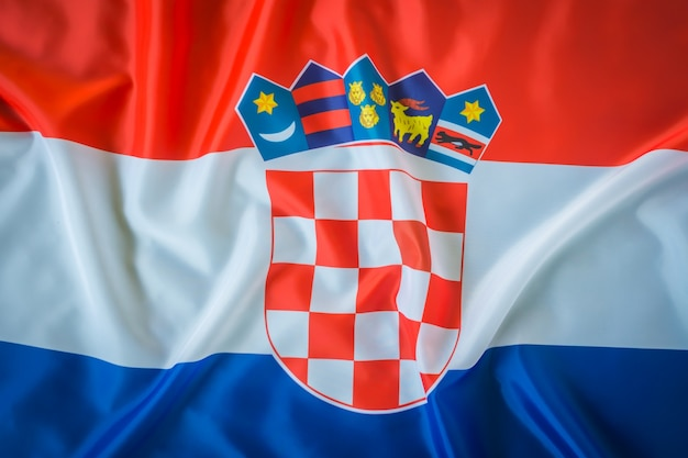 Flags of croatia .