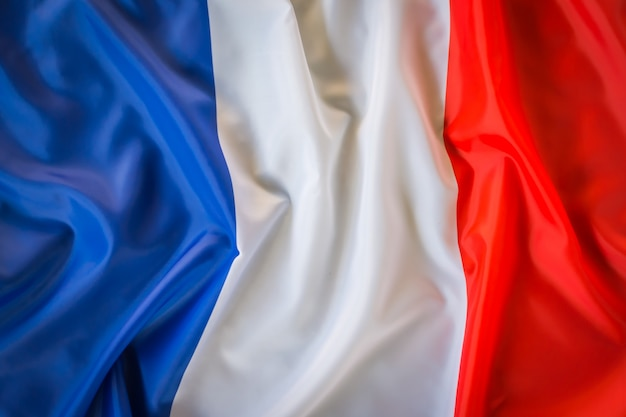 Flags of france .