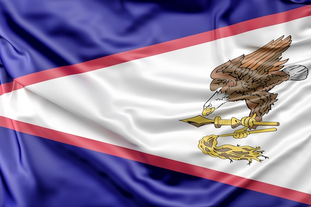 アメリカンサモアの国旗