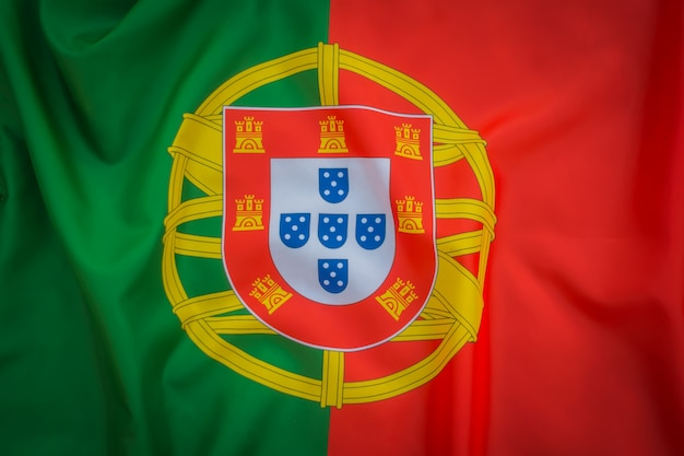 Flags of portugal .
