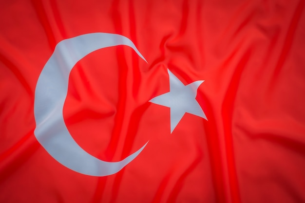 Flags of turkey .